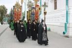 Крёстный ход. Свято-Успенская Святогорская Лавра. Украина